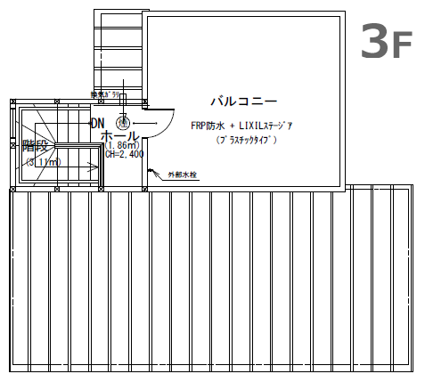 間取図3F
