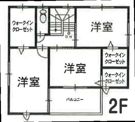 間取図2F